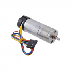 34:1 Metal Gearmotor 25Dx67L mm LP 12V with 48 CPR Encoder