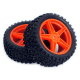 Set of 4 Red Wheels