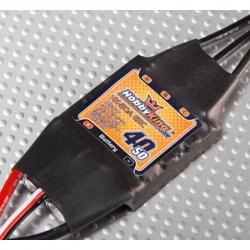 ESC Hobbyking SS Series 40-50A  (Bulb Less)