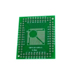 Adaptor PCB FQFP TQFP 32 44 64 80 100 LQFP la DIP