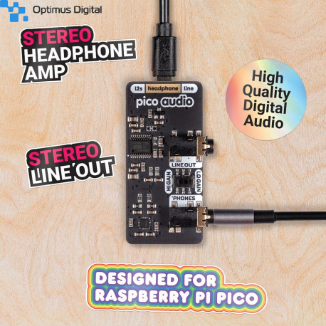 Pico Audio Pack (Line-Out and Headphone Amp)