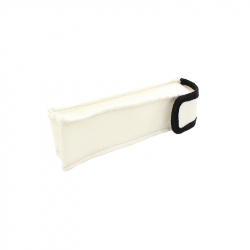 Silicone and Fiberglass Fireproof Case 180 x 40 x 35 mm for Batteries