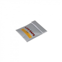 Silicone Fireproof Case and 180 x 220 m Glass Fiber for LiPo Battery