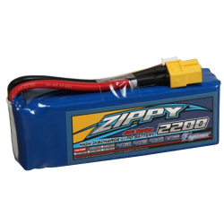 LiPo ZIPPY Flightmax 2200 mAh 3S1P 40C Battery