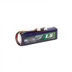 LiFe Turnigy Nano-Tech Battery for Transmitter, Compatible with Taranis 1500 mAh 3S (9.9 V)