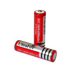 3.7 V, 4200 mAh UltraFire Li-Ion Battery 18650
