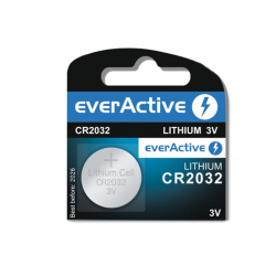 CR2032 EverActive Lithium Battery