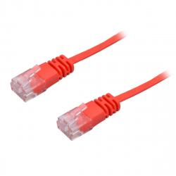 UTP Flat Cable, CAT6, Red, 3 m