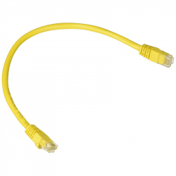 UTP CAT 5E Round Yellow Cable 1.5 m