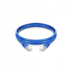 15 meters CAT7 SFTP Patch Cable Blue