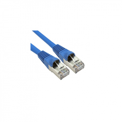 15 meters CAT6A UTP Patch Cable Blue
