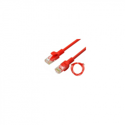 15 meters CAT7 SFTP 27AWG Cable Red