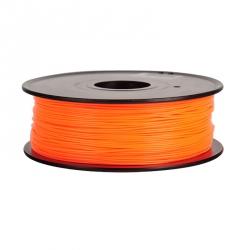 1.75 mm, 1kg PLA Filament For 3D Printer - Transparent Orange