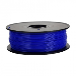 1.75 mm, 1kg PLA Filament For 3D Printer - Transparent Blue