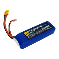 1500 mAh 3S1P 20C Flightmax LiPo ZIPPY Battery