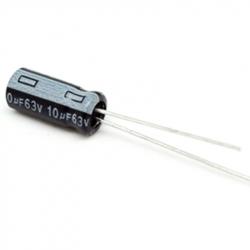 Electrolytic Capacitor 10 uF, 63 V
