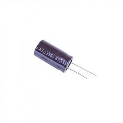 Electrolytic Capacitor 47 uF, 350 V