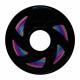 Filament Silk Gloss pentru Imprimanta 3D 1.75 mm PLA 1 kg - Curcubeu