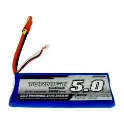 5000 mAh 2S 20C LiPo Turnigy Battery