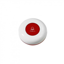 433 MHz Call Switch Circular - Red