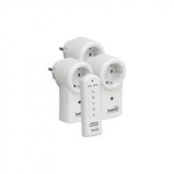 Set of 3 Sockets with Remote control