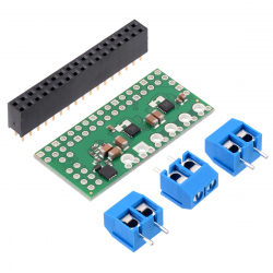 Dual MAX14870 Motor Driver for Raspberry Pi (Partial Kit)