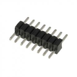 8p 1.27 mm Male Pin Header