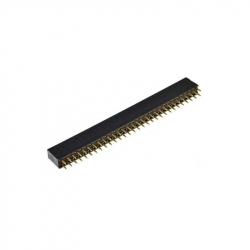 2 x 30p 2.54 mm Female Pin Header
