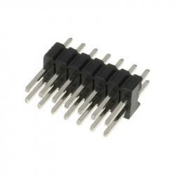 2 x 7p 2.54 mm Male Pin Header
