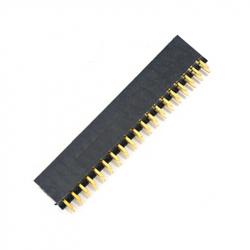 2 x 19p 2.54 mm Female Pin Header