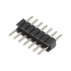7p 1.27 mm Male Pin Header