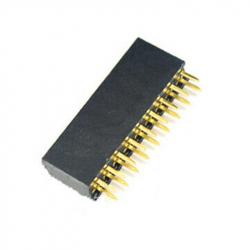 2 x 9p 2.54 mm Female Pin Header