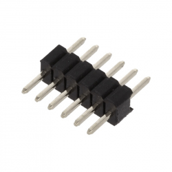 6p 1.27 mm Male Pin Header