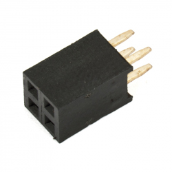 2 x 2p 2.54 mm Female Pin Header