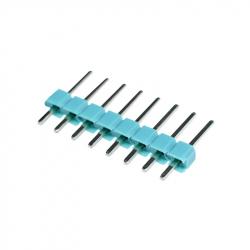 8p 2.54 mm Male Pin Header (Green)