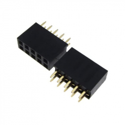 2 x 5p 2.54 mm Female Pin Header