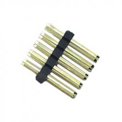2 x 5p 1.27 mm Male Pin Header