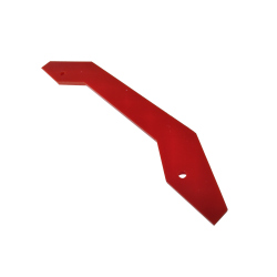 Red Lip for Front/Back Mounting on 4 Motors Robot Kit