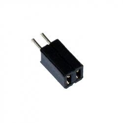 2p 1.27 mm Female Pin Header