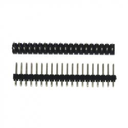 2 x 20p 2.54 mm Male Pin Header