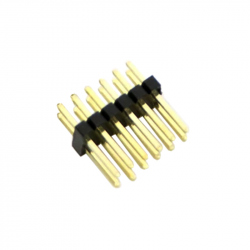 2 x 6p 1.27 mm Male Pin Header