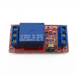 Relay Module with One Channel (5 V Power) - Red