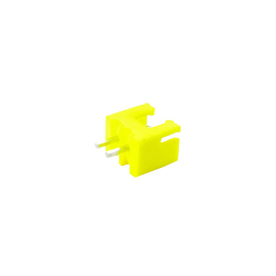 2p Male XH2.54 Connector (Yellow)