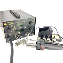 Hot Air Soldering Station with Letcon and Digital Display