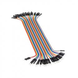 20 cm 40p Male-Female Wires