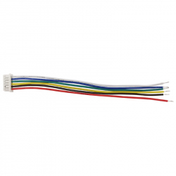 6p 1.25 mm Single Head Cable (15 cm)