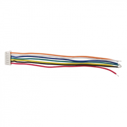 7p 1.25 mm Single Head Cable (30 cm)