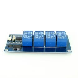 Modul Releu cu 4 Canale și Micro USB