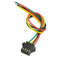 Cable with SM2.54-4p Female Connector (10 cm)