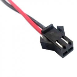 Cable with SM2.54-2p Female Connector (10 cm)